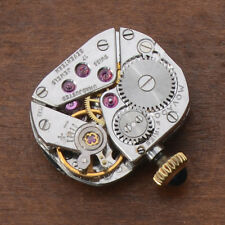 VINTAGE MOVADO CALIBER 58 LADIES WRISTWATCH MOVEMENT PARTS REPAIRS GOOD BALANCE