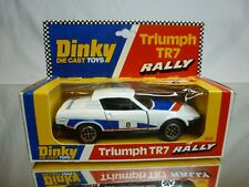 DINKY TOYS 207 TRIUMPH TR7 RALLY LEYLAND - WHITE 1:43 - GOOD CONDITION IN BOX