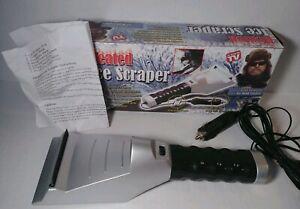 Heated Ice Scraper with Light 12VDC As Seen On TV Hugh Rowland Ice Road Trucker