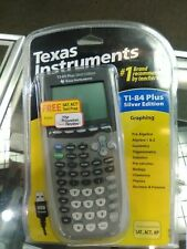 TEXAS INSTRUMENTS  TI-84 PLUS SILVER EDITION GRAPHING MATH CALCULATOR