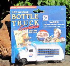 RARE 1990s Golden Wheels Bottle Truck Evolution 1937 Pepsi Truck 1:87 Scale MOC