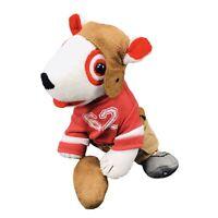 "Target Football Player Bullseye Dog 6"" Plush Stuffed Toy Limited edition"