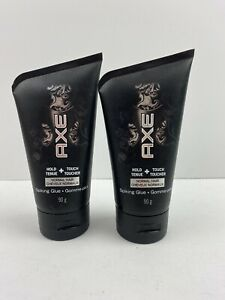 2 X Axe Hold + Touch Normal Hair Spiking Glue 3.2oz
