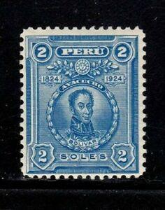 Peru stamp #241, MH OG, very clean and crisp, SCV $35.00