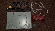 Sony Playstation  SCHP-9001 w Cables, Dual Shock Controller & Memory Card Tested