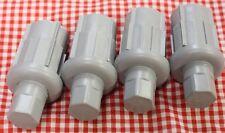 "Set of 4 Adjustable Bullet Feet 1-5/8"" O.D. Work Table Sink Equipment Foot Leg"