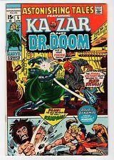 Marvel - ASTONISHING TALES #5 -Red Skull - Smith Art- FN Apr 1971 Vintage Comic