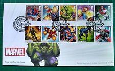2019 Marvel Character Set de 10 sur Hulk FDC Avenger fermer Eastleigh PCM