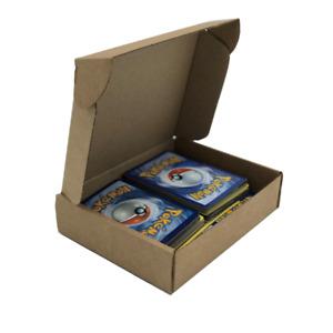 "50 x Brown Small Postal Subscription Cardboard Box 5.5 x 4.4 x 1.3"""