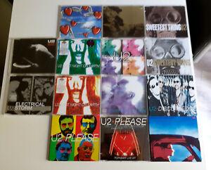U2 - LOT 14 CD MAXI (VARIOUS TRACKS EX CONDITION)