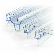 Duschdichtung Wasserabweiser [20 Modelle] Ersatzdichtung Glasscheibe Duschtür