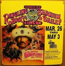 Kenneth FELD Presents THE RINGLING BROTHERS BARNUM & BAILY CIRCUS 1992 poster