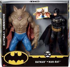 DC Comics Batman Missions Batman vs Man-Bat Action Figure