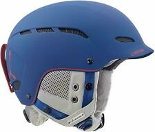 Cebe - Dusk 56-58 cm Matte Navy Red Snow Helmet New with Tags