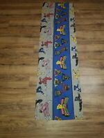 Vtg Mighty Morphin Power Rangers Straight Valance 86x18 Fabric Craft