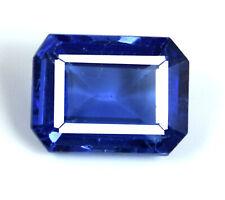 Tanzania Tanzanite Blue Gemstone Natural Certified Octagon 7-8 Ct