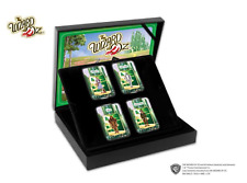 More details for official the wizard of oz full set 24ct gold ingot brand new in capsule - rare