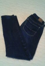 American Eagle Outfitters Dark Wash Skinny Stretch Jeans 2 Short
