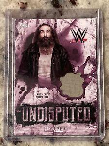 2018 Topps WWE Undisputed Luke Harper Brodie Lee Shirt Relic 5/5 - 1/1 RARE MINT