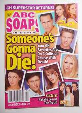 ABC Soaps In Depth Nov 22 2005 Full Magazine Back Issue Burton Benard Easton