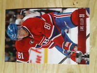 Lars Eller Montreal Canadiens 14-15 Playoffs NHL Postcard Caps Blues Frolunda