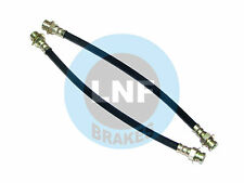 PLYMOUTH DUSTER 340 360 VALIANT SCAMP DRUM BRAKE HOSE FRONT SET X2 73 74 75 76