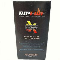 RipFire Xcelerate Pre-Workout Dietary Performance Supplement 90 Tablets