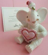 "Lenox ♡""Be Mine, Valentine Elephant""♡ Nib~Coa~Holiday Elephants Collection~"