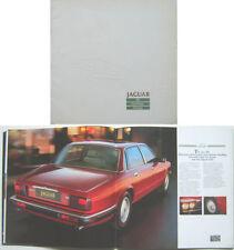 JAGUAR XJ6 SOVEREIGN DAIMLER 2.9 & 3.6 XJ40 1986-87 ORIGINAL UK sales brochure