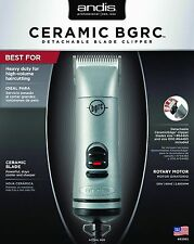 Andis Ceramic BGRC Detachable Blade Silver Hair Clipper # 63965 NEW