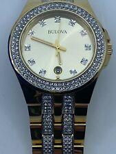 BULOVA Crystal Diamond 42 mm Watch Item No. 98B174