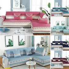 Plush Fabric Sofa Seat Couch Cover Lace Slipcover European Style Sofa Towel