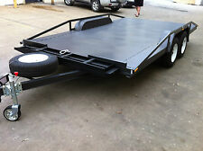Car  Trailer tandem axle  XXX WIDE  14X8 FT!  3000kg ATM QUALITY AUSTRALIAN MADE