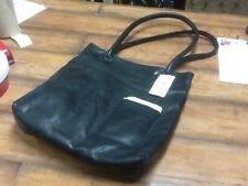J Jill-Black Leather Tote-Medium Size-EXCELLENT-NWT-LOOK :-)