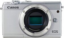 Canon EOS M100 Mirrorless Digital Camera (White) Body - USA Model - Free Ship!