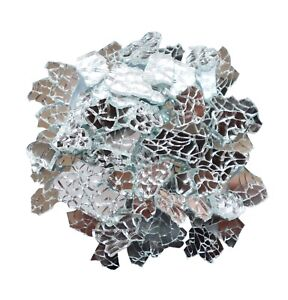Mirror Glass Mosaic Tiles for Crafts Tempered Broken Pieces Material Decorate