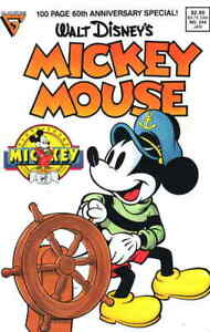 Mickey Mouse (Walt Disney's…) #244 FN; Dell   save on shipping - details inside
