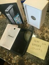 Black 4th Gen iPhone IN BOX -- A1332 -- 16GB -- SOLD AS IS -- Listing#13
