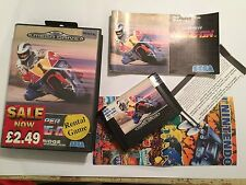 SEGA GENESIS MEGA DRIVE MEGADRIVE RACE GAME SUPER HANG-ON BOXED COMPLETE PAL