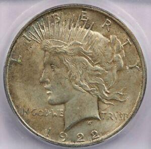 1922-D 1922 Peace Dollar ICG MS61