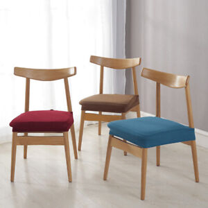 1PC Dining Chair Seat Cover Slipcovers For Chair Party Home Banquet Slipcovers