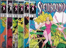 SPELLBOUND #1-#6 SET (NM-) MARVEL COMICS SERIES, X-MEN