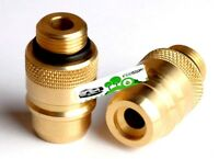 LPG GPL GAS EURO SPAIN TO UK BAYONET(21,8)filler FILLING  Autogas adapter BRASS