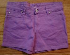 REAL LOVE PURPLE  SHORTS GIRLS SIZE 12