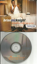 BRIAN McKNIGHT w/ MASE You Should be Mine w/ 2 RARE VERSIONS PROMO DJ CD Single