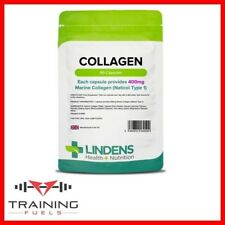 Lindens Collagen (Marine) 400mg 90 Capsules Healthy Skin Joints Tissue