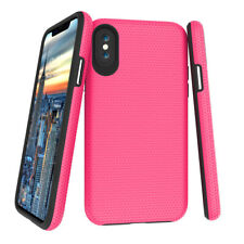 iPhone X Case Shockproof Hard Back Soft TPU Bumper Cover Air Cushion Technology