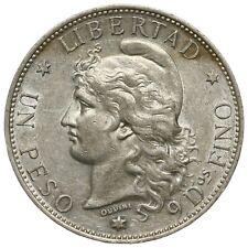 Argentina, 1 Peso, 1882, AU condition