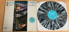 "Depeche Mode A Question Of Time Rare Grey Marbled Colored Vinyl 12"" Sticker"