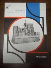 Strojimport Catalog~Czechoslovakia~TOS OFA OFU 50 Gear Hobbing Machine Brochure